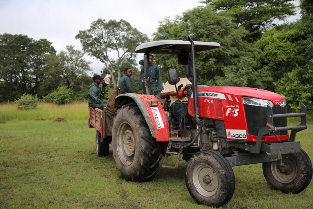 FES ZAMBIA FACILITATES AGCO ZAMBIA'S TRACTOR DONATION TO GAME RANGERS INTERNATIONAL