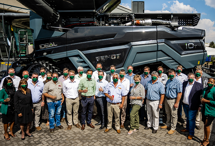 Kershni Maharaj, Head of Strategy, Dealer and Distribution Development – Africa, instrumental in the launch of the first group of Fendt dealers on the African continent.