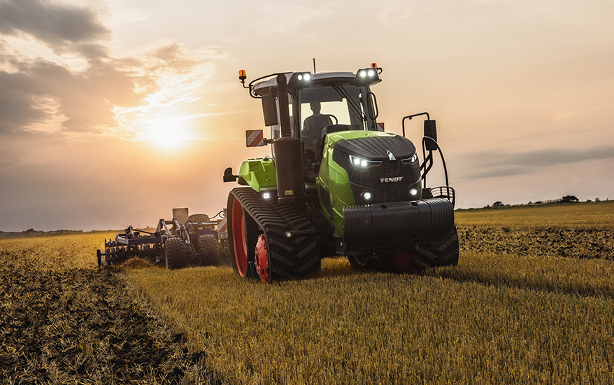Latest German-engineered Fendt 900 and 1100 Vario multi-tracked tractors available in South Africa