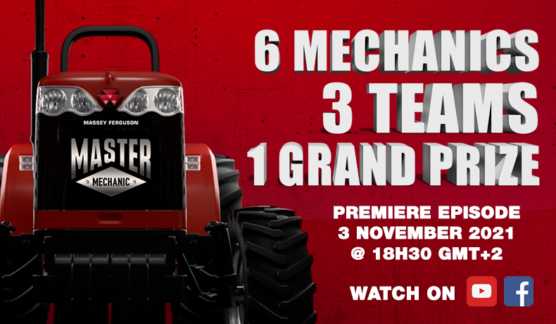 Massey Ferguson launches the world-first Master Mechanic reality show in South Africa